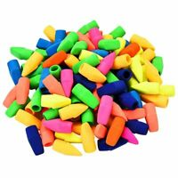 200 Pieces Pencil Eraser Caps Pencils Top Erasers for Kids Students Learning U9K