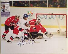 Patrick Roy Autographed Team Canada 16x20 Hockey Photo 1 JSA COA
