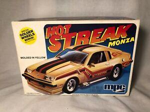MPC Hot Streak Monza Chevy 1979 Golden Wheels 1/25 Model Kit #1-0784 NEW NIB