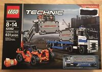 LEGO Technic 40th Anniversary Brick Container Yard Factory Sealed 2017 (42062)