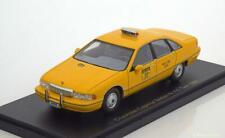 CHEVROLET CAPRICE SEDAN NEW YORK CITY TAXI 1991 BOS 43076 1/43 RESINE