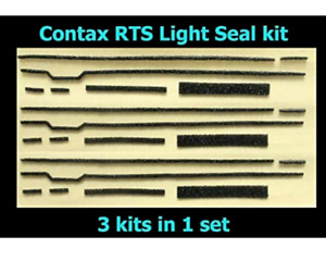 Contax for RTS Back Cover Body Light Seals Kit replace Sponge From Japan Camera