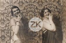 JOSE ORTIZ ECHAGÜE Femmes Espagne Cigarette Madrid Prostitution Photo 1929