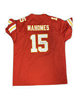 Mahomes Signed Jersey Red 1/2  ** Read Description **
