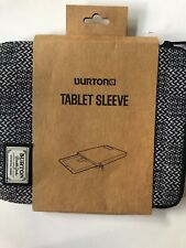 "Burton Durable Goods 10"" x 8"" Zip Closure Tablet Sleeve Case Folio Pinwheel New"