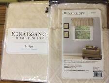 2 Renaissance Window Valance - Renaissance Bridget Valance - NEW
