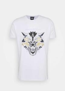 Mens KWD Kings Will Dream King Short Sleeve T Shirt Gym Gym Smart Wolf White