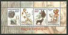 Hongrie. 2004 Junior Timbres Chiens Miniature Feuille SG: MS4769.