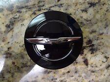 13-16 Chrysler 200 300 New Black & Chrome Wheel Center Cap Mopar Factory Oem