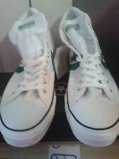 NEW CONVERSE TRAINERS STAR PLAYER MID MEN'S UK SIZE 8 WHITE/GREEN -UNISEX