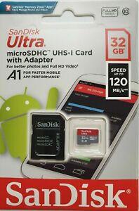 SanDisk 32GB Micro SD Card for Motorola MDC150 HD,MDC300 HD GW Dash Camera
