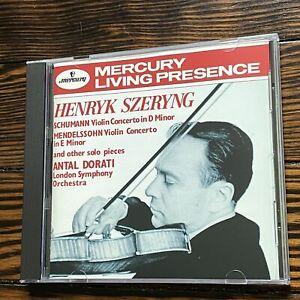Szeryng; Dorati / Schumann: Violin Concerto in D Minor / Mendelssohn: Violin C..