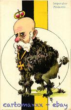 WW1 WWI Propaganda - Kaiser - Ill. Marchisio - Umoristica Satirica - KV182