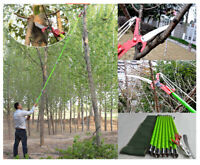 IntBuying 26 Feet Tree Saw Pruner for Cutting Coconut Branch etc. Portable New
