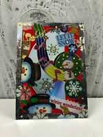 """ACEO Trading Card """"Let It Snow Winter Wonderland"""" Artist Unknown Hand Made"""