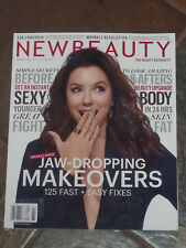 NEW BEAUTY WINTER-SPRING 2018  MAGAZINE NEW  JAW-DROPPING MAKEOVERS EVA LONGORIA