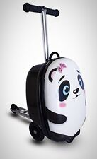 """Zinc Flyte Kids Luggage Scooter 18"""" Polly Panda Travelling Children Toddlers New"""