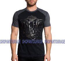 6416936cf0b Men Affliction T-shirts Speed Metal Works Graphic Black Size 2xl