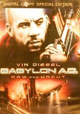 BABYLON A.D.(2008)Raw and Uncut Two-Disc Set with Digital Copy Vin Diesel SEALED