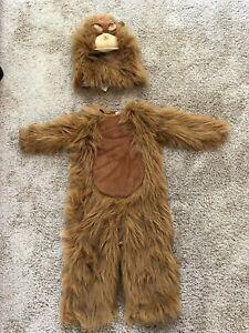 Pottery Barn Kids Orangutan Costume size 3T