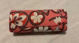 Vera Bradley Authentic Retired Shelia Eyeglass Case Magnetic Closure Pink Blush