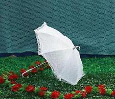 Ombrello da sposa MATRIMONIO BIANCO pizzo impermeabile.lunghezza 53 cm pic