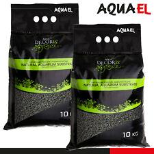 Aquael Basalt Gravel 2-4 mm 10kg Gravier Noir Bas Aquarium Douceur