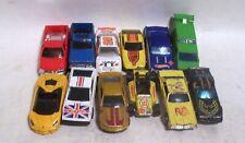 Lot of 12 Vintage Hot Wheels Cars Race Cars Pu Trucks