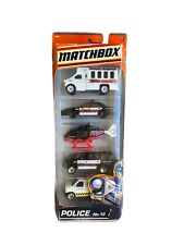 New 2009 Matchbox Police No. 12 5-Pack 9646. All Sheriff Vehicles.
