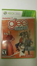 10 lot  NEW FACTORY SEALED GAME ONLY GLEE KARAOKE REVOLUTION FOR  XBOX 360