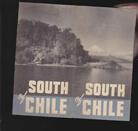 South of Chile vintage travel brochure (1930s?) South America