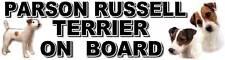 Parson Russell Terrier On Board Sticker by Starprint
