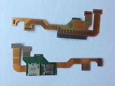 Sim Card Leser Micro SD Reader PCB Board Platine Flex für Motorola XT905 Razr M