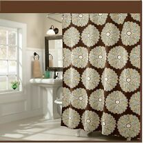 Shower Curtain  Pop Chocolate Fabric Shower Curtain