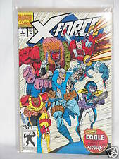 1992 Marvel Comic X-Force Cable Past Present & Future