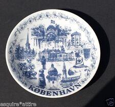 porcelain coin plate Kobenhavn DENMARK