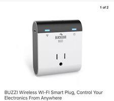 Buzzi Wireless Wi-Fi Smart Plug, Control Your Electronics From Anywhere