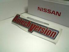 JDM OEM AUTECH BADGE EMBLEM DECAL NISSAN ROGUE X-TRAIL SILVIA SKYLINE From JAPAN