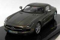 Mercedes SLS AMG 2010 - Monza Grey, 1/43, Model, Car,