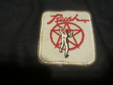 RUSH vintage EMBROIDERED PATCH hard rock