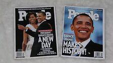 People Magazine President Barack Obama November 2008 Inauguration February 2009