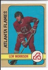 1972-73 OPC OPEECHEE Lew Morrison #143 - no crease