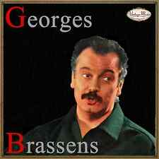 GEORGES BRASSENS CD Vintage French Song / La Mauvaise Réputatio, Bancs Publics