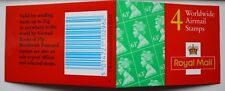 1997 Walsall 4x63p Barcode Booklet SG Catalogue No GR2 - No Olympic Symbols
