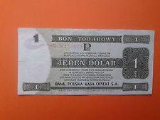Poland 1 Dolar - Bon towarowy Pekao - Pewex  1 $ - 1979