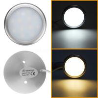 1x 12V 12 LED Interior Spot Light Cabinet Lighting For Camper Boat Trailer