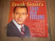 That Old Feeling, Frank Sinatra 1957 Disco LP Vinilo, Enviado Orugas, Casi Nuevo