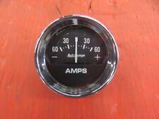 Autogauge Large Face Amps Ampres Gauge 60 Hot Rod Custom