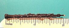 OBOE miniature - hat pin , tie tac , lapel pin , hatpin GIFT BOXED (GA)
