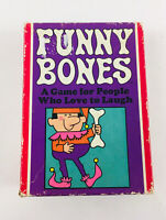 Vintage 1968 Funny Bones Card Game By Parker Brothers Complete Instructions